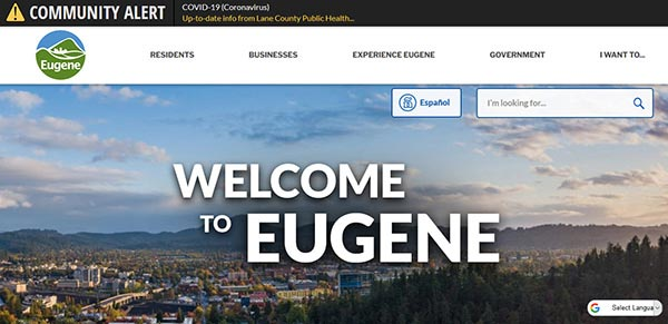Local Resources for City of Eugene, OR Residents